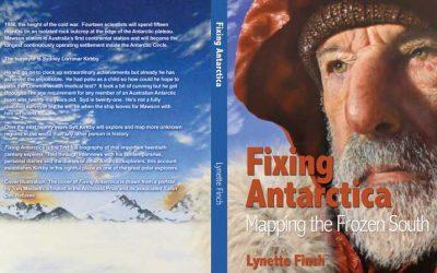 Fixing Antarctica is in Bookshops