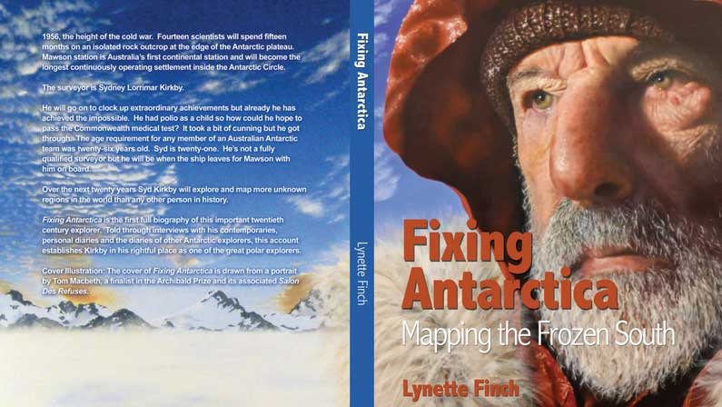 Fixing Antarctica is in Bookshops